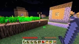 Minecraft выживание в плоском мире(1 серия) ищем всё