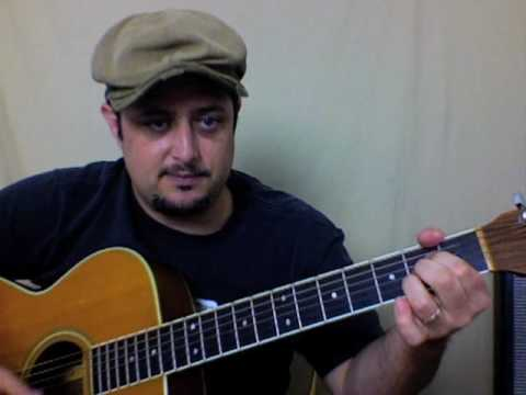 Southern Blues Rock Allman Brothers Guitar Lesson - Sweet Melissa - Acoustic Guitar Lessons