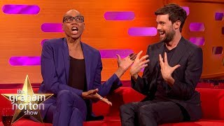 Ru Paul Gives Dame Helen Mirren & Jack Whitehall Drag Queen Names | The Graham Norton Show