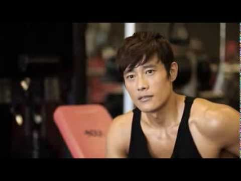 Lee Byung Hun GI Joe 2 training clip in NOLA
