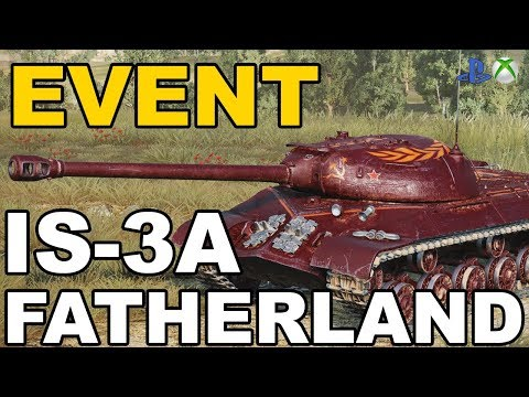 News!!! Event IS-3A Fatherland  World of Tanks Xbox One/Ps4