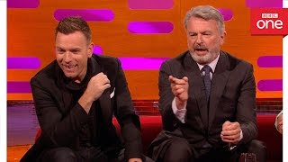 Sam Neill's farm animals have celebrity names: The Graham Norton Show 2016 - BBC One