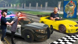 DON'T Break ANY Laws While Racing Across The Map! | GTA5