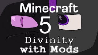 Minecraft: Divinity with Mods(5): Darkwing