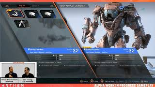 Anthem | Weapons, Gear, Builds & Progression Live stream (Dec 13th Unedited rebroadcast)