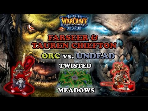 Grubby | Warcraft 3 The Frozen Throne | Orc v. UD - Farseer and TC - Twisted Meadows