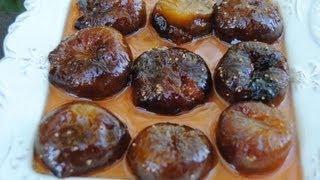 Cooking | Receta fácil de higos en almíbar | Receta facil de higos en almibar