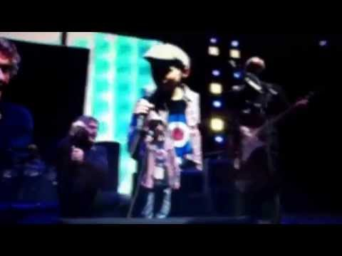 The Who 50-Pinball Wizard  live at manchester arena with George Bould 13/12/2014
