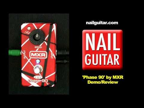 Guitar Pedal Review: EVH Phase 90 - MXR Eddie Van Halen Stomp Box