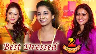 Zee Marathi Awards Nominations 2016 | Top 8 Best Dressed | Indo Western Fusion | TV Show
