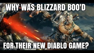Why Blizzard got BOO'd For Announcing DIablo Immortal at Blizzcon