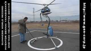 Guinness Record Smallest Helicopter GEN-H4 (Pt.1)