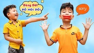 Cậu Bé Nói Dối - Dạy Bé Trở Thành Người Thật Thà ♥ Min Min TV Minh Khoa