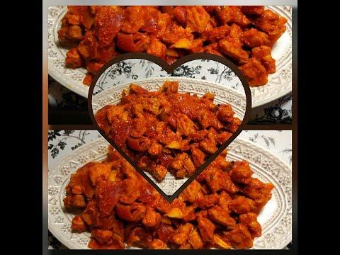 Goan Spicy Pork  Masala in AirFryer