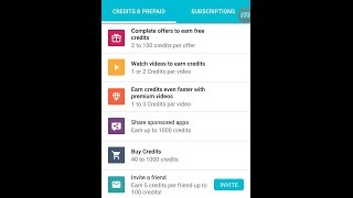top top up/text me Up credit earn & mobile recharge app