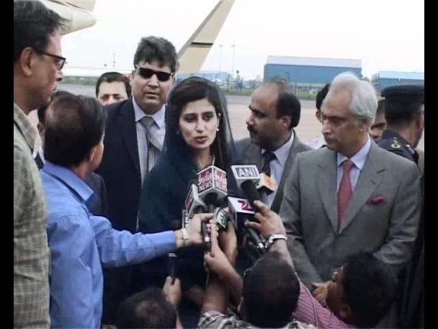 Hina Rabbani Khar india visit