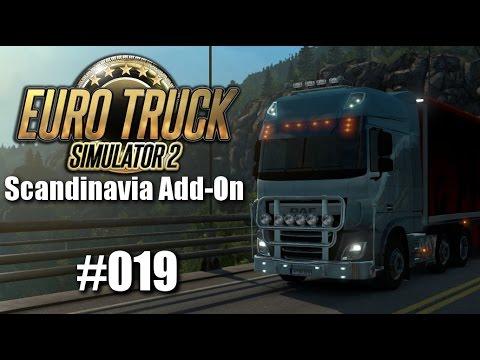Euro Truck Simulator 2: Scandinavia Add-On #019 - Das mobile Unglück