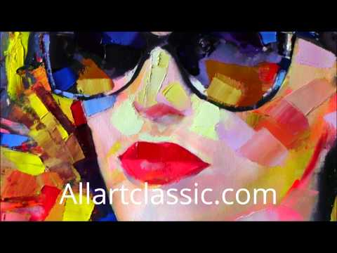 Oil Painting Sunglasses 3d Oil Painting Hd1080p