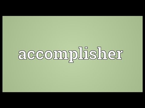 Header of Accomplisher