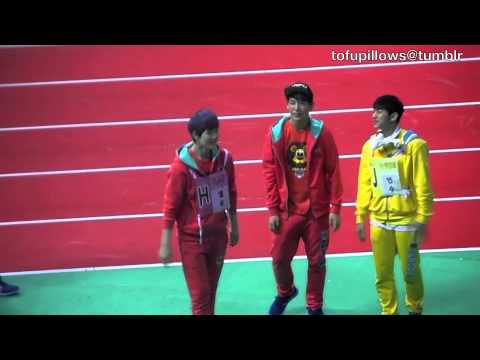 [fan cam] B.A.P at the MBC Idol Championships 2013