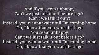 Lukas Graham - Unhappy HQ Lyrics