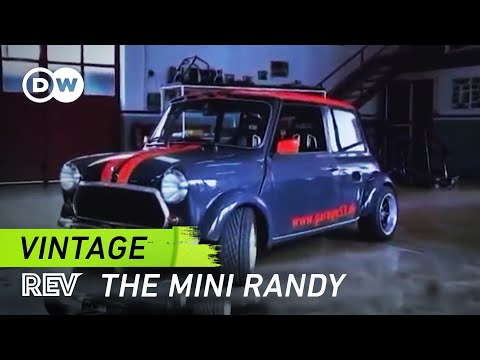 The Mini Randy Featuring a Hayabusa Engine   Drive it!