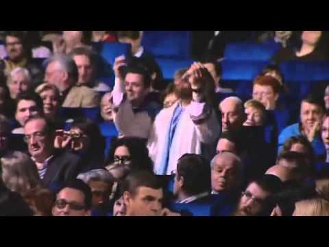 Иосиф Кобзон на вручении премии Скрипач на крыше 01.12.2013. Хава Нагила