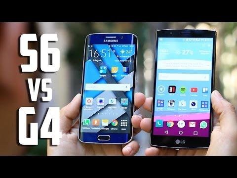 Samsung Galaxy S6 vs LG G4