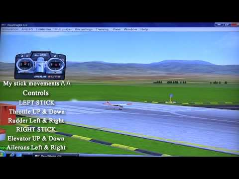 Learn To Fly Rc 4 Channel Planes Basic Flight Info How To Fly Radio Control Airplane