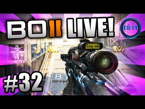 """FLAWLESS STREAK!"" - BO2 LIVE w/ Ali-A #32 - (Call of Duty: Black Ops 2 Multiplayer Gameplay)"