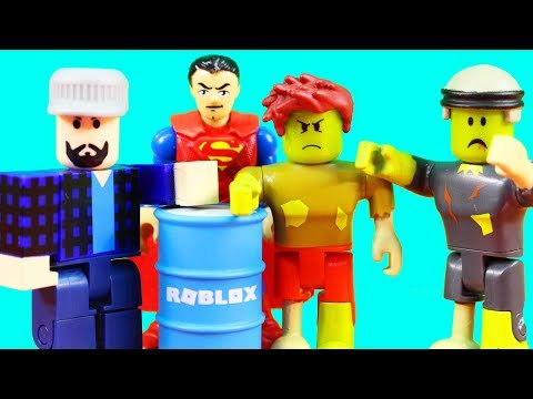 Roblox Unboxing And Imaginext Superman