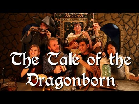 Skyrim: Tale of the Dragonborn Music Video (Uncensored)
