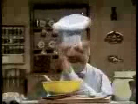 Muppet Show - Swedish Chef - making chocolat moose Video