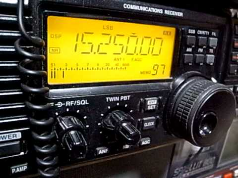 15250kHz Radio Nacional de Venezela received in Japan