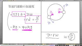 高校物理解説講義:「円運動」講義5