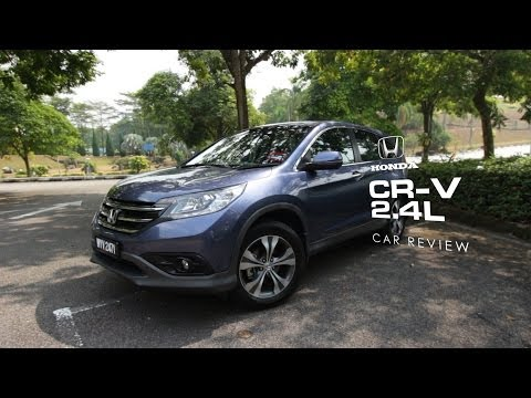 First Impressions: Honda CR-V 2.4L