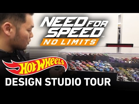 Need for Speed No Limits Hot Wheels Design Studio Tour