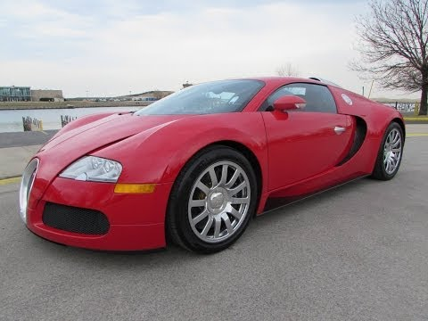 2008 Bugatti Veyron 16.4 Start Up, Exhaust, Test Drive, and In Depth Review