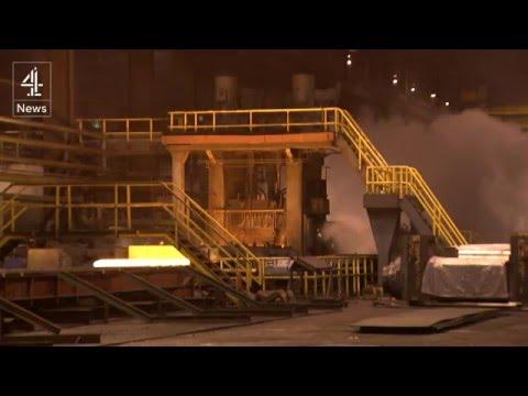 Britain steel crisis: the latest