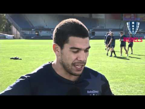 Rebels' Mark Gerrard previews Brumbies clash - Rebels' Mark Gerrard previews Brumbies clash