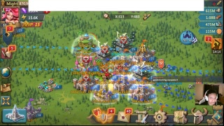 Lords Mobile - How to: Defend against rallies