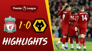 Liverpool 1-0 Wolves | Mane's goal sees out 2019 with a win | Highlights