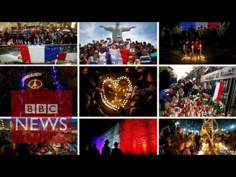 Paris attacks: Vigils held around the world - BBC News