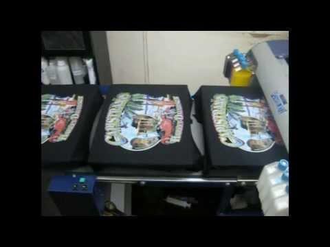 3d, 3 boyutlu Dijital T-Shirt Baskı Makinesi - POWERJET 1 / Digital Textile Printer