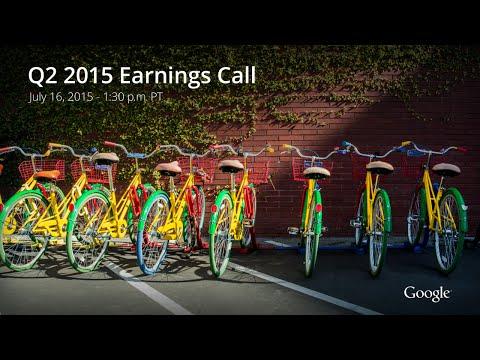 Google Q2 2015 Earnings Call