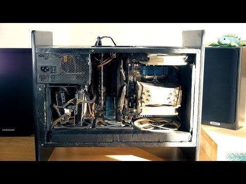 My silent wooden PC