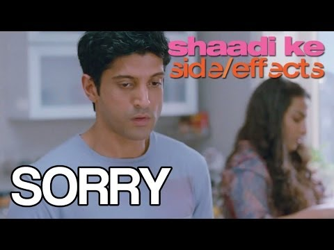 Shaadi Ke Side Effects - Sorry (Dialogue Promo)