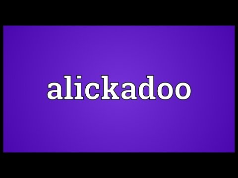 Header of alickadoo