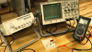 Time and Frequency Response RC Circuit