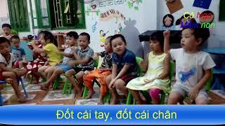 Trò chơi nhà trẻ, trò chơi mẫu giáo,  múa ngón tay: CON MUỖI